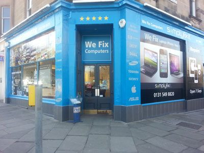 picture of SimplyFixIt at Bruntsfield, also known as Ideal Computing.