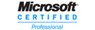 We use Microsoft Certified Professionals