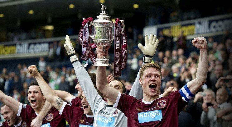 Proud to be partners of the 2012 Scottish Cup winners, Hearts FC