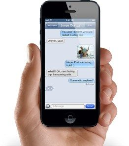free text messages on your iPhone