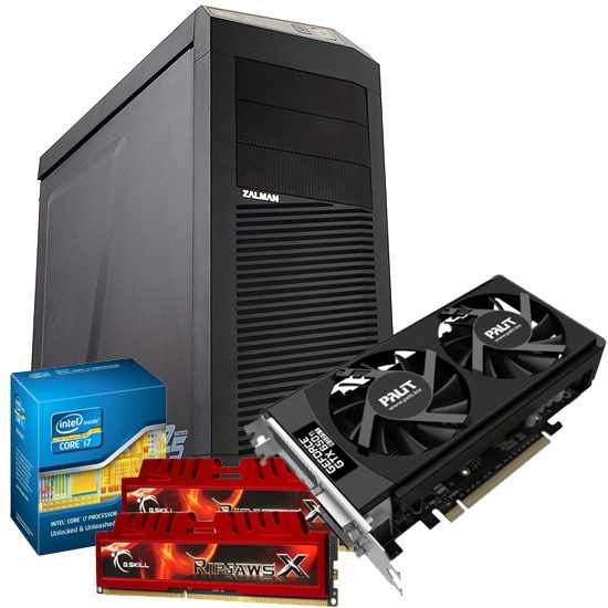 Overclockers have a gaming PC on a deal of the week. We are still cheaper