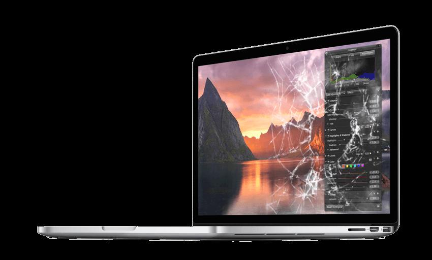 how to fix broken mac book laptops
