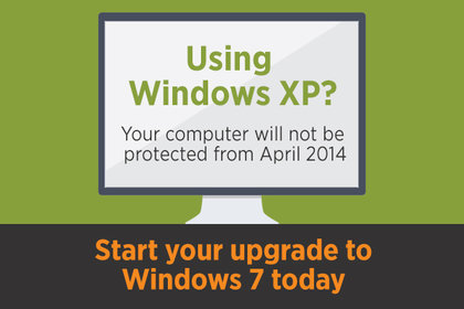Upgrading from Windows XP