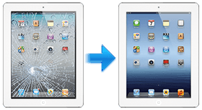 iPad 3 glass repairs