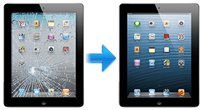 iPad 4 glass repairs