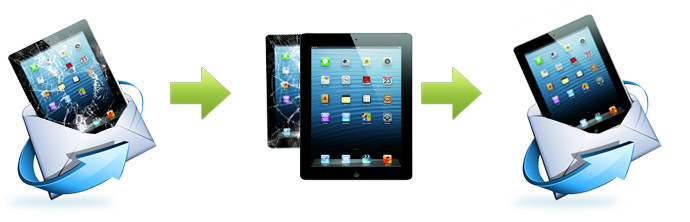 Send your iPad to us for a FAST repair
