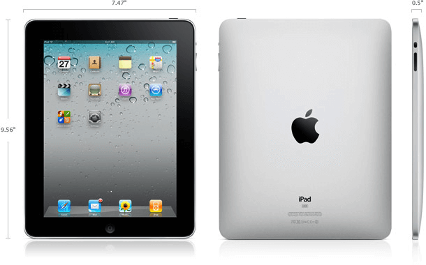 iPad 1 specifications