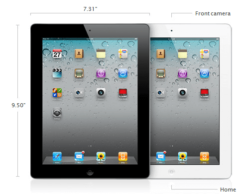 ipad 2 specifications