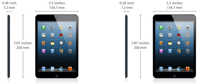 iPad Mini Specifications