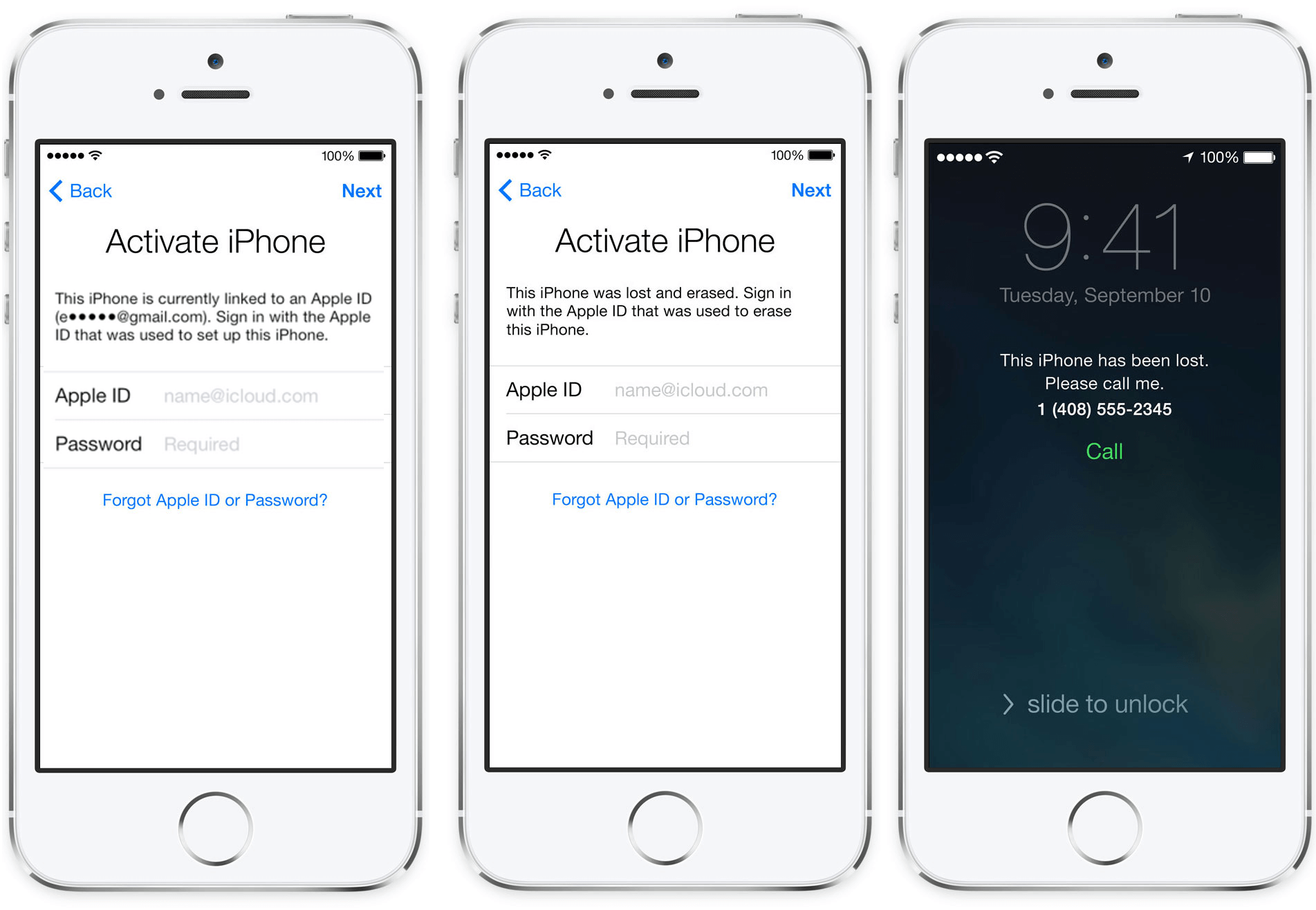Remove the iCloud Activation Lock from your iPhone