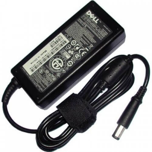 An example of a laptop charger.