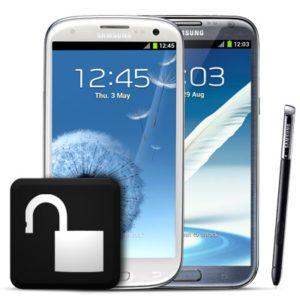 Unlock Samsung Galaxy Smartphones