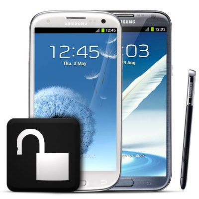 Unlock Samsung Galaxy Phones - O2, Vodafone, EE and Three