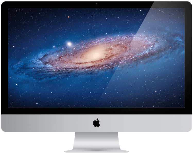 A picture of an apple iMac from 2011