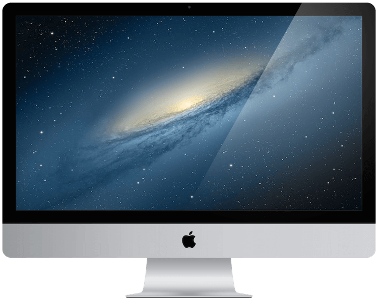 A picture of an apple iMac from 2012