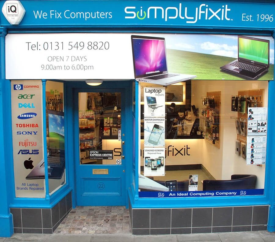 An external photo of SimplyFixIt Stockbridge.