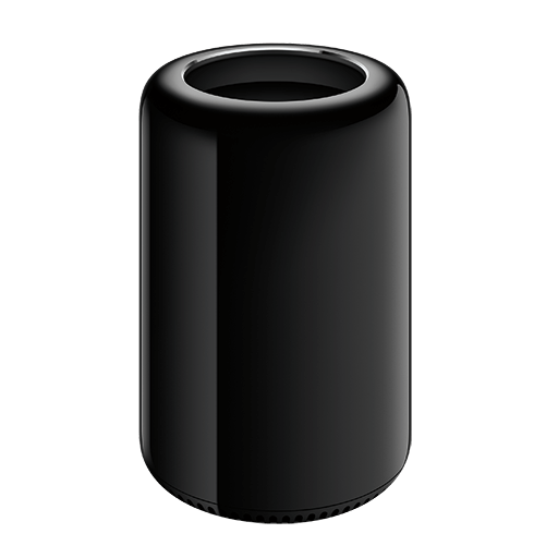 a second generation, Cylinder or thrash can, Mac Pro from 2013
