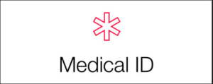 Medical ID logo.
